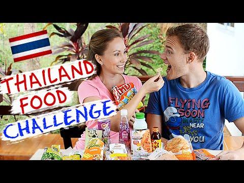THAILAND FOOD CHALLENGE // Пробуем тайские снэки! :)
