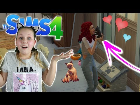 ADOPTING 3 KITTENS!! Sims 4 Let's Play - Ruby Rube