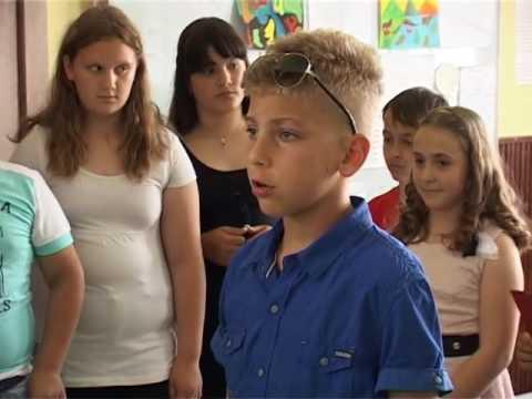 Oš Stanoje Glavaš Iz Glibovca Učenici 4 Razreda Proslavili Malu Maturu