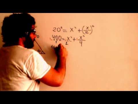 Razones trigonometricas Calcular cateto opuesto con angulo e hipotenusa Academia Usero Estepona