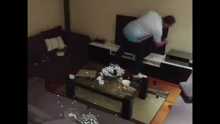 LOL | Wife pranks football mad husband | By turning the Tv on and off via hidden Remote.
