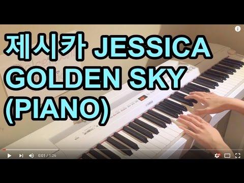 제시카 JESSICA - GOLDEN SKY (PIANO)