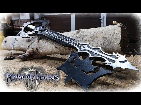Oblivion Keyblade (Kingdom Hearts) - Aluminum Metal Casting