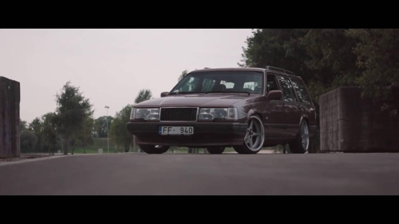 Volvo 945 940 turbo B230ft TB-58 Ocean MK18 Turbobrick redblock swedishmetal stance - YouTube