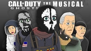 ♪ CALL OF DUTY: GHOSTS THE MUSICAL - Animated Parody Music Video(Download Song on iTunes: https://itunes.apple.com/us/album/call-duty-ghosts-musical-single/id778980125 Video Game Musicals #13: CALL OF DUTY: ..., 2013-12-15T04:19:31.000Z)