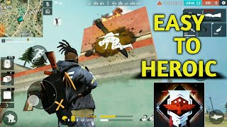 Free Fire | Easy way to heroic |Duo tips for Heroic!!!
