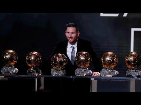 كرة القدم: الأرجنتيني ليونيل ميسي يفوز بجائزة الكرة الذهبية للمرة السادسة في مسيرته  - 12:01-2019 / 12 / 3