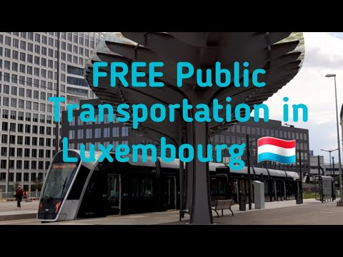 FREE Public Transportation in Luxembourg 🇱🇺 by PinayinLuxembourg ❤