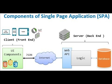Single Page Application (SPA) Architecture