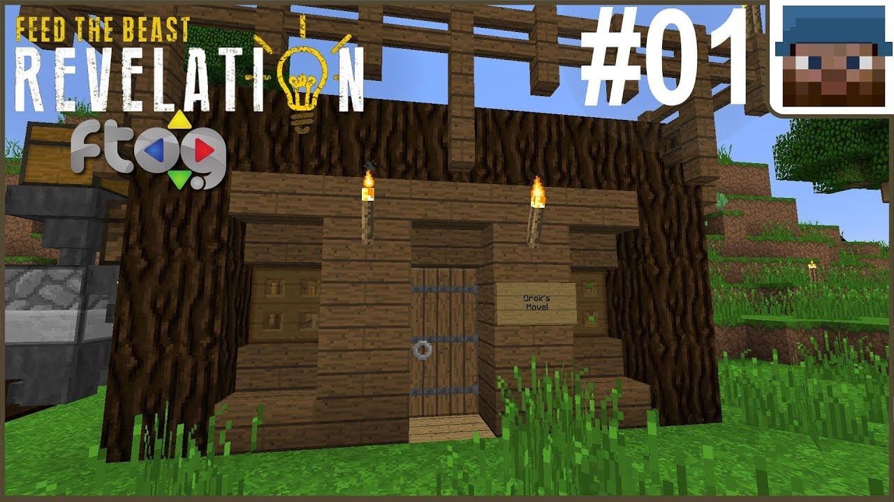 FTOG FTB Revelation #01 - New Base Building