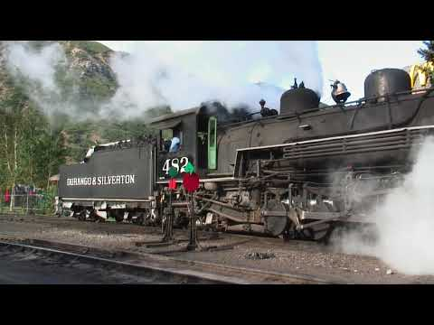 Rocky Mountain Steam Trains High Def