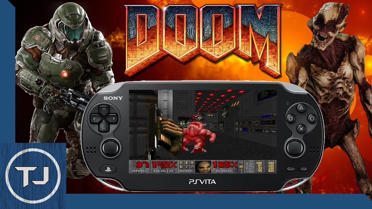 PS Vita Install & Play DOOM! (VHBL 3 65)