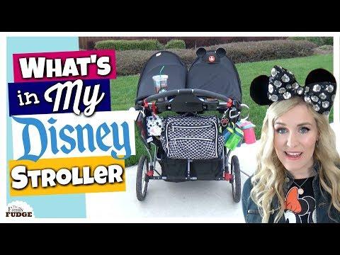 My Decked Out Disney Stroller || DISNEY HACKS & Organization
