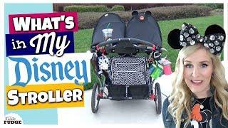 My Decked Out Disney Stroller    DISNEY HACKS & Organization
