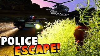 POLICE ESCAPE! AVOIDING PRISON! - Brick Rigs Gameplay Roleplay - Lego City Jobs Roleplay