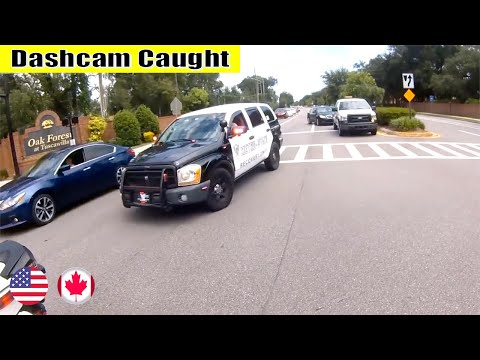 Ultimate North American Cars Driving Fails Compilation - 134 [Dash Cam Caught Video]