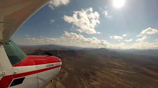 Cessna 152 Strut-Mounted GoPro Hero 3 Alamogordo NM