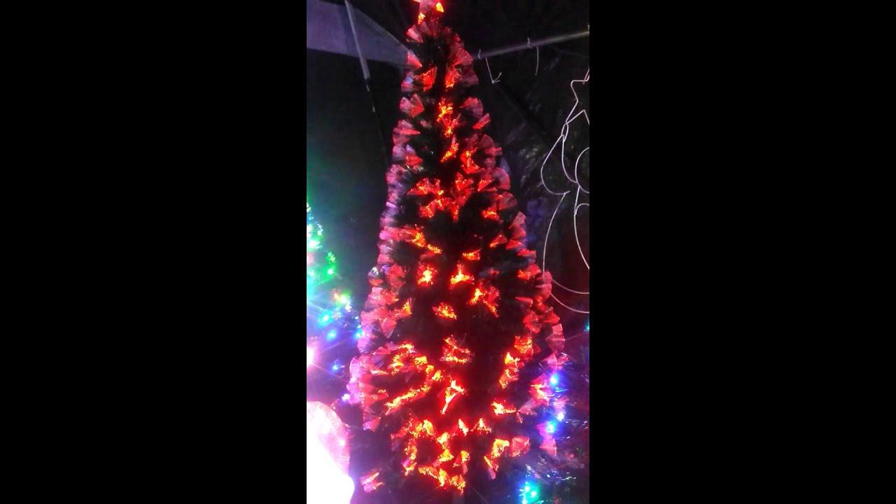 Arbol de navidad con luces de fibra optica regalos populares de navidad - Luces arbol de navidad ...
