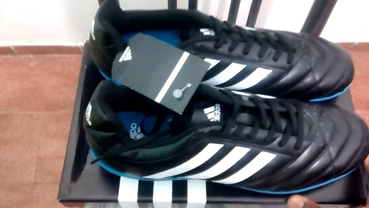 43598420cfb19 Chuteira Adidas Goletto 5 TF Society - YouTube
