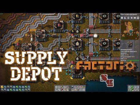 FACTORIO 0.15 | Starting the Supply Depot - Episode 12