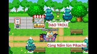 Dạo Troll cùng SET đồ PHi Hành GiA và PET Nấm lù Pikachu