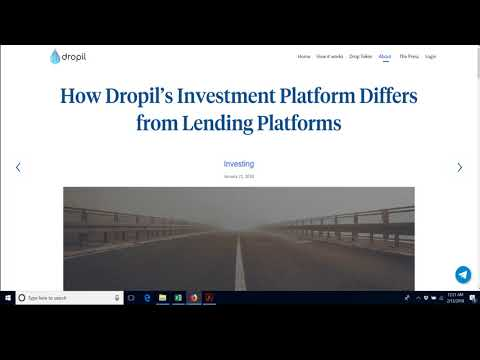 Dropil com   Awesome new investment platform built for long term automatic investing 2