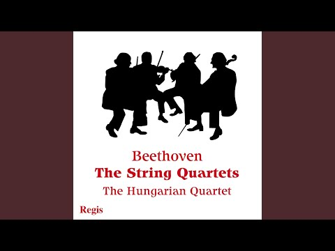 String Quartet No. 15 In A Minor, Op. 132: I. Allegro