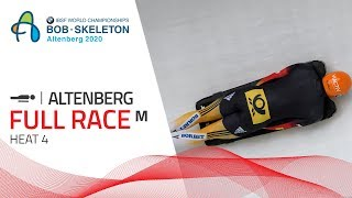Altenberg | BMW IBSF World Championships 2020 - Men's Skeleton Heat 4 | IBSF Official