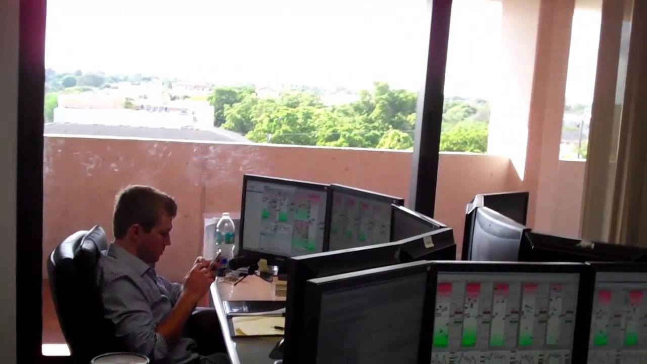 Miami Trading Floor Office Tour Youtube