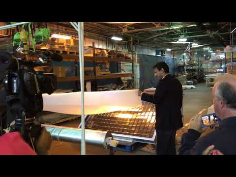 NYSERDA Unveils Solar Heating Technology Manufacturing in the Southern Tier