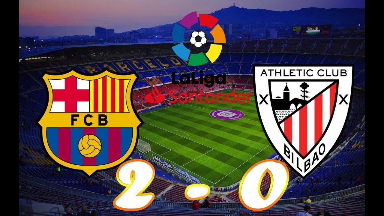 BARCELONA vs ATHLETIC BILBAO MatchDay 2020. HIghlights ...