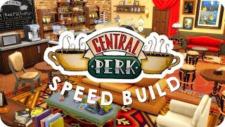 CENTRAL PERK CAFE | Sims 4 Speed Build (Friends)