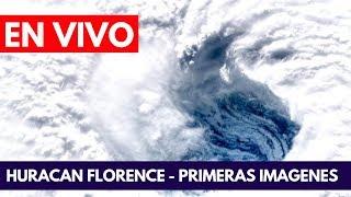 EN VIVO: Huracán Florence primeras imágenes