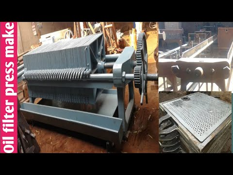 Filter Press Make By Iron Beat Engineering Part 2 - Oil Filter Press
