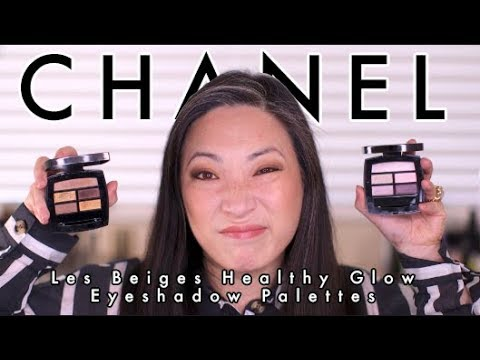 CHANEL NEW Les Beiges Eyeshadow Palettes 2018 (Light & Deep)