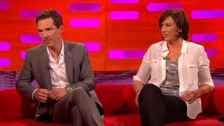 Benedict Cumberbatch impressions on Graham Norton show