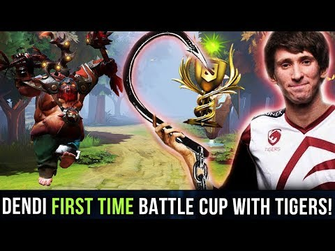 DENDI PUDGE - FIRST TIME Battle Cup with New Team Tigers - DOTA 2 SEA Tier 8 Battlecup thumbnail