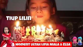 Download Video Lifia dan Niala Elsa Tiup Lilin Ulang Tahun - Birthday Cake - We're Playing With Fire MP3 3GP MP4