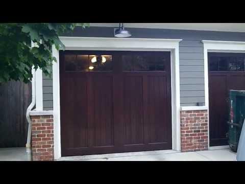 Carriage House Wood Innovative Garage Door