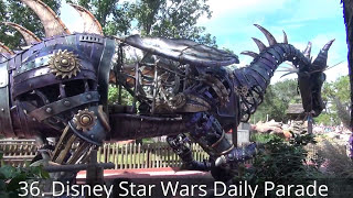 Future Star Wars Land NASA Theme Park: 40 Rides, Rollercoaster's & Disney Attractions