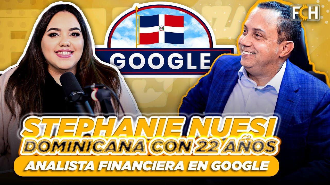 💹😲 STEPHANIE NUESI CON 22 AÑOS ES ANALISTA FINANCIERA DE GOOGLE (FINANZAS CON HUMOR)