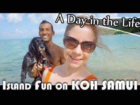 ISLAND FUN ON KOH SAMUI – LIVING IN THAILAND DAILY VLOG (ADITL EP188)