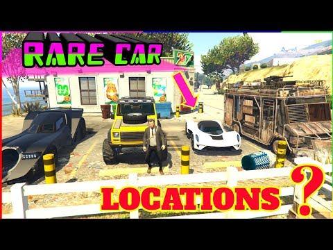 Gta 5 Top Rare Vehicle Locations ( Secret Unknown Locations )
