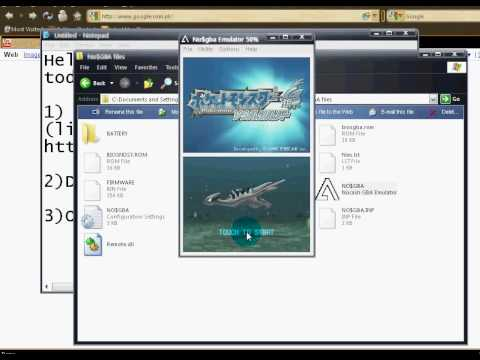 How To Download No$gba And Pokemon Soul Silver English Rom