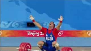 Men's Weightlifting - 105KG - Final - Beijing 2008 Summer Olympic Games
