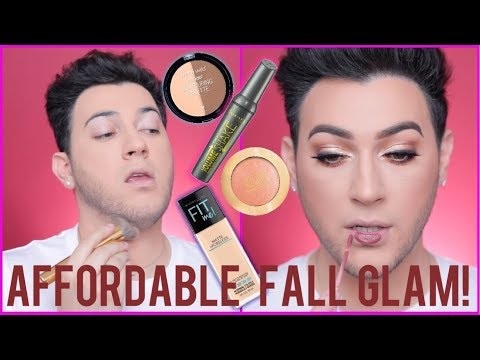 BUDGET FRIENDLY… FULL FACE FALL MAKEUP TRANSFORMATION!