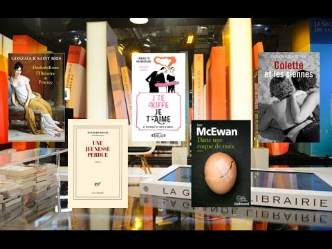 Jeudi 20 avril 2017 - INTEGRALE - Ian McEwan, Jean-Marie Rouart, Dominique Bona...