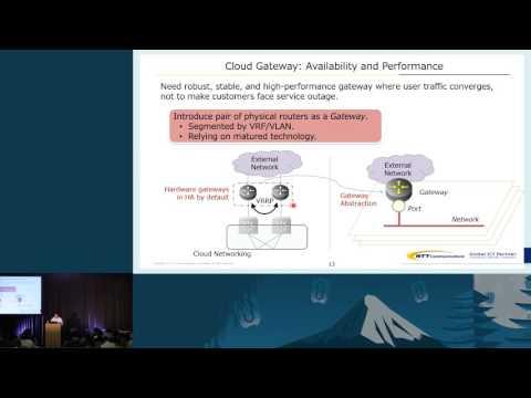 NTT Communications - Enhancement on OpenStack Networking for Carrier Cloud Platform
