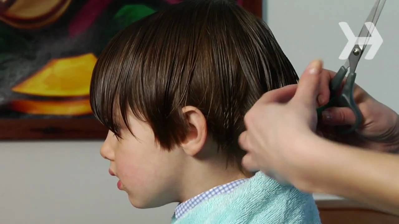 How To Cut A Boy S Hair Youtube