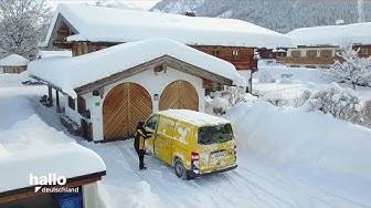 TV Doku: Postzustellung im Schnee